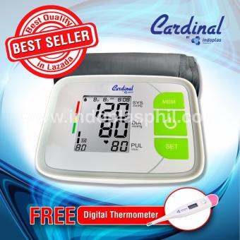 Cardinal Blood Pressure Monitor 808 - Free Digital Thermometer