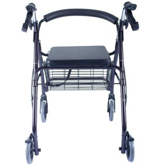 Care&Cure Medical Walker Rollator with Seat and Wheels(Metalic) Price Philippines