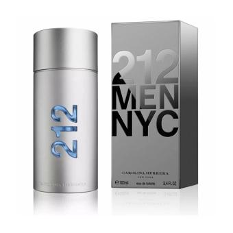 Carolina Herrera 212 MEN NYC Eau De Toilette Perfume for Men 100m
