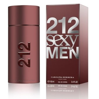Carolina Herrera 212 Sexy Men Eau de Toilette for Men 100ml