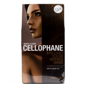 Casa Hair Color Quick and Easy Cellophane (Ash Brown) Price Philippines