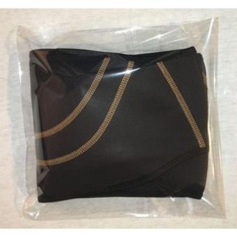 Catwalk Men Women Copper Back Pro Lower Back Support Lumbar Compression Belt Closure - intl - 2