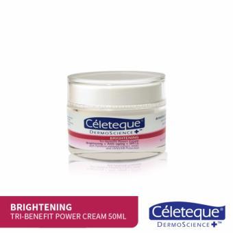 Céleteque DermoScience Brightening Tri-benefit Power Cream 50mL