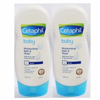 Cetaphil Baby Moisturising Bath & Wash 230ml (SET OF 2)