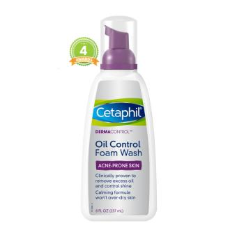 Cetaphil DermaControl Oil Control Foam Wash for Acne Prone Skin