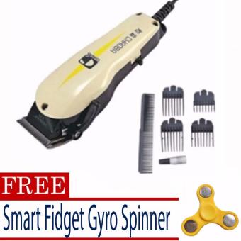 chao ba Professional Razor Electric Hair Trimmer Clipper with 4Comb Guides with Free Spinner (color may vary)