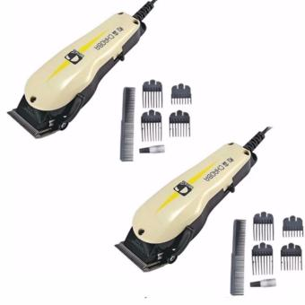 Chao Professional Razor Electric Hair Trimmer Clipper with CombGuides #0124 Set of 2