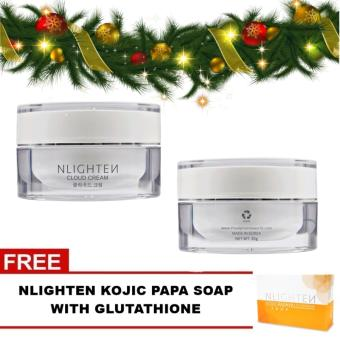 CLOUD CREAM NLIGHTEN PRODUCTS + FREE KOJIC SOAP