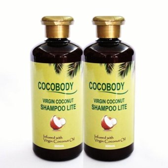 Cocobody, Virgin Coconut Shampoo Lite 300ml x 2pcs