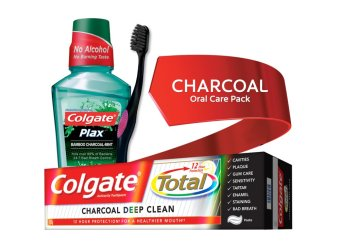 Colgate CHARCOAL Oral Care Pack Price Philippines