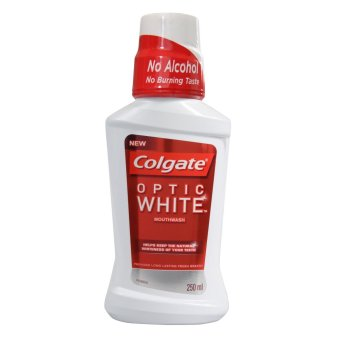 Colgate Optic White Mouthwash 250ml