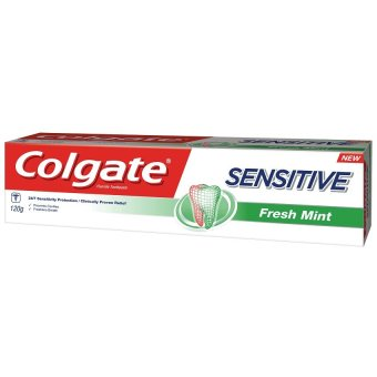 Colgate Sensitive Fresh Mint Toothpaste for Sensitivity Relief 120g