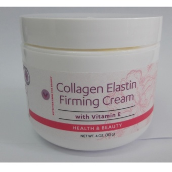 Collagen Elastin Firming Cream With Vitamin E - 4oz