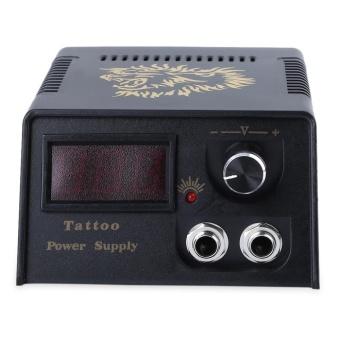 Complete Tattoo Kit 2 Tattoo Machines Power Supply System EU PLUG - intl - 5