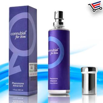 Connubial for Him Pheromone Attractant Cologne Sex perfume Set of 2 (Blue) - picture 2
