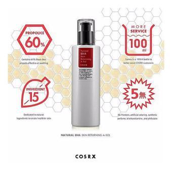 COSRX Natural BHA Skin Returning Emulsion, 100ml - 3