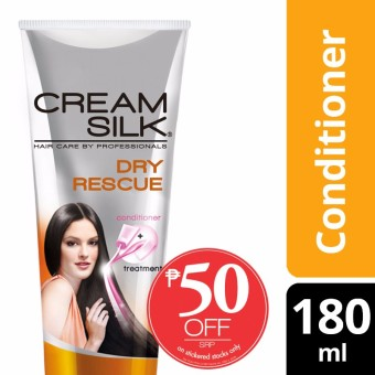 Cream Silk Daily Treatment Conditioner Dry Rescue 180ML 50%off