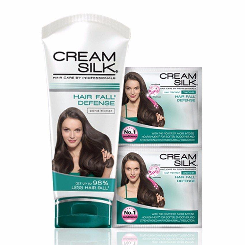 Cream Silk Hair Fall Defense Hair Conditioner Set 180ml .
