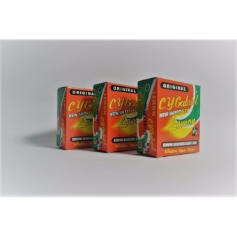 CY Gabriel Lemon Soap 60g pack of 3 Price Philippines