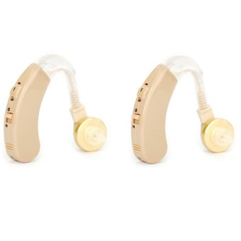 Cyber Sonic Sound Amplifier Hearing Aid Set of 2