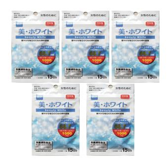 Daiso Beauty White (30 Tablets) Bundle of 5