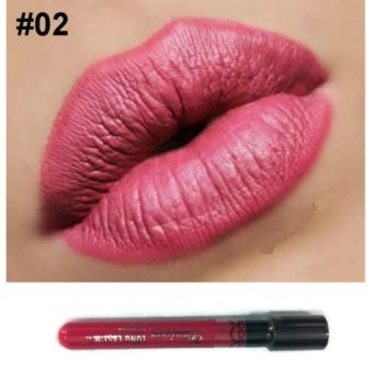 Danimer Waterproof Long Lasting Liquid Matte Lipstick Lip Gloss #0212g