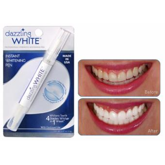 Dazzling White Instant Teeth Whitening Pen 4 Shades Whiter in 1Week 0.07oz (2.0g)