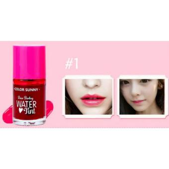 Dear Darling Water Tint Long Lasting Blush On and Cheek Tint LiquidLipstick lip gloss 12mL #01