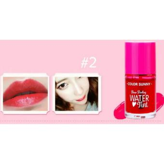 Dear Darling Water Tint Long Lasting Blush On and Cheek Tint LiquidLipstick lip gloss 12mL #02