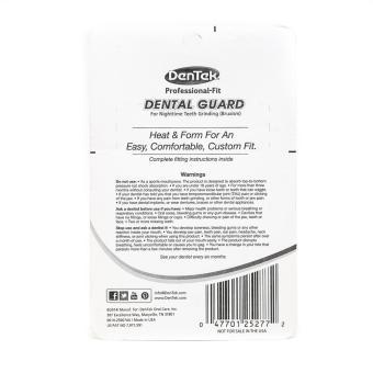 Dentek Professional Fit Dental Guard Maximum Protection - 2