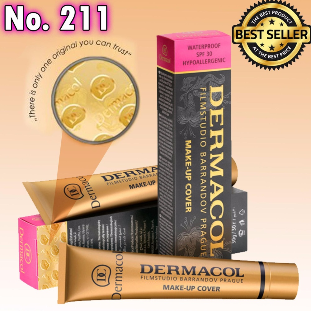 Dermacol Make-Up Cover Foundation Shades No.211 Philippines
