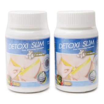 Detoxi Slim Fast Slimming Dietary Capsule Bottle of 30 100g Set of 2