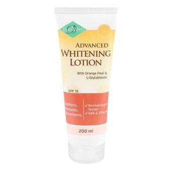 Diamond Advanced Whitening Lotion 200ml