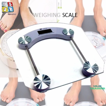 Digital Glass Personal Human Weighing Scale (SQUARE)