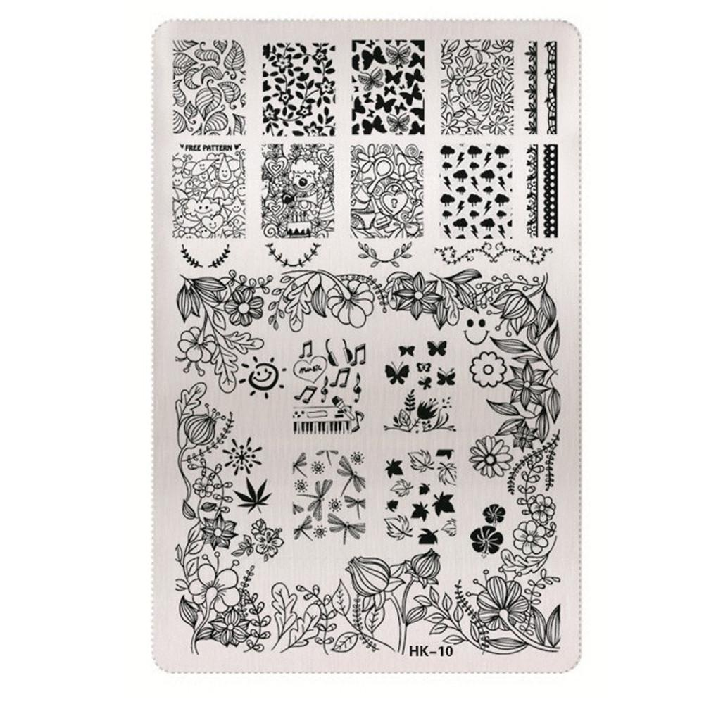 Philippines Diy Nail Art Image Stamp Stamping Plates Manicure