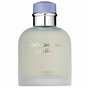 Dolce & Gabbana Light Blue Perfume for Men Eau De Toilette125ml (Tester)