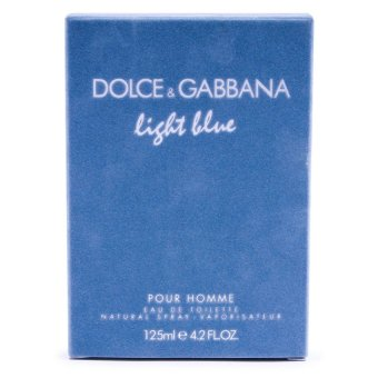 Dolce & Gabbana Light Blue Pour Homme Eau De Toilette For Men125ml
