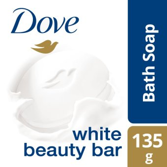DOVE BAR SOAP WHITE BEAUTY 135G .