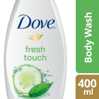 DOVE BODY WASH GO FRESH COOL MOISTURE 400ML .