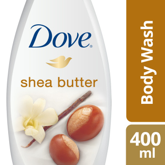 DOVE BODY WASH SHEA BUTTER 400ML