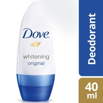 Dove Deodorant Roll-On Whitening Original 40Ml .