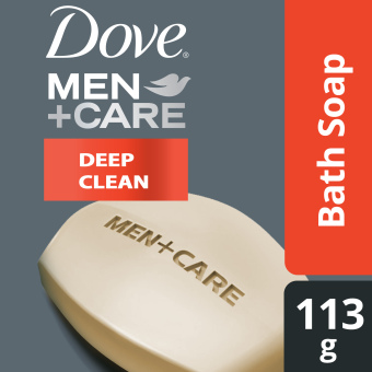 DOVE MEN BAR SOAP DEEP CLEAN 113G Price Philippines