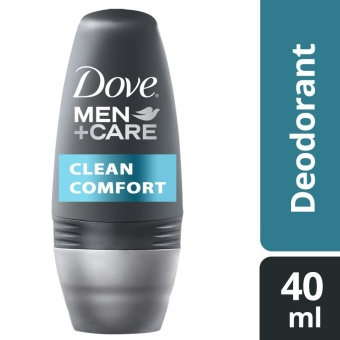 Dove Men Deodorant Roll-On Clean Comfort 40Ml .