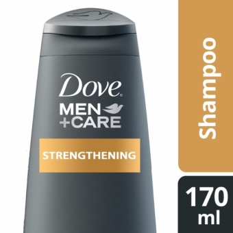 DOVE MEN SHAMPOO STRENGTHENING 170ML .