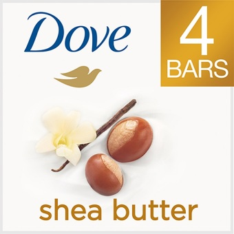 Dove Purely Pampering Shea Butter Beauty Bar 4oz