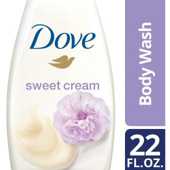 Dove Purely Pampering Sweet Cream & Peony Body Wash 22oz