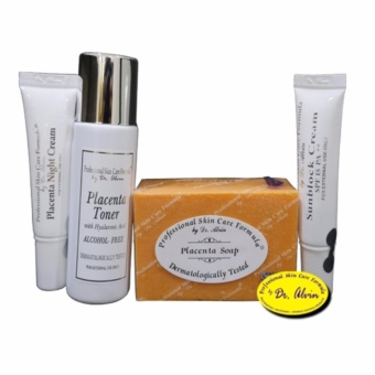 Dr. Alvin Professional Skin Care Formula - Placenta Facial Set Price Philippines