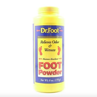 Dr. Foot Relieves Odor & Wetness Foot Powder 170g