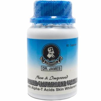 DR. James Skin Whitening Capsole Bottle of 60 (New Bottle)