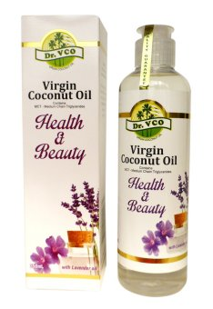 Dr. VCO Virgin Coconut Oil Health & Beauty 250ml